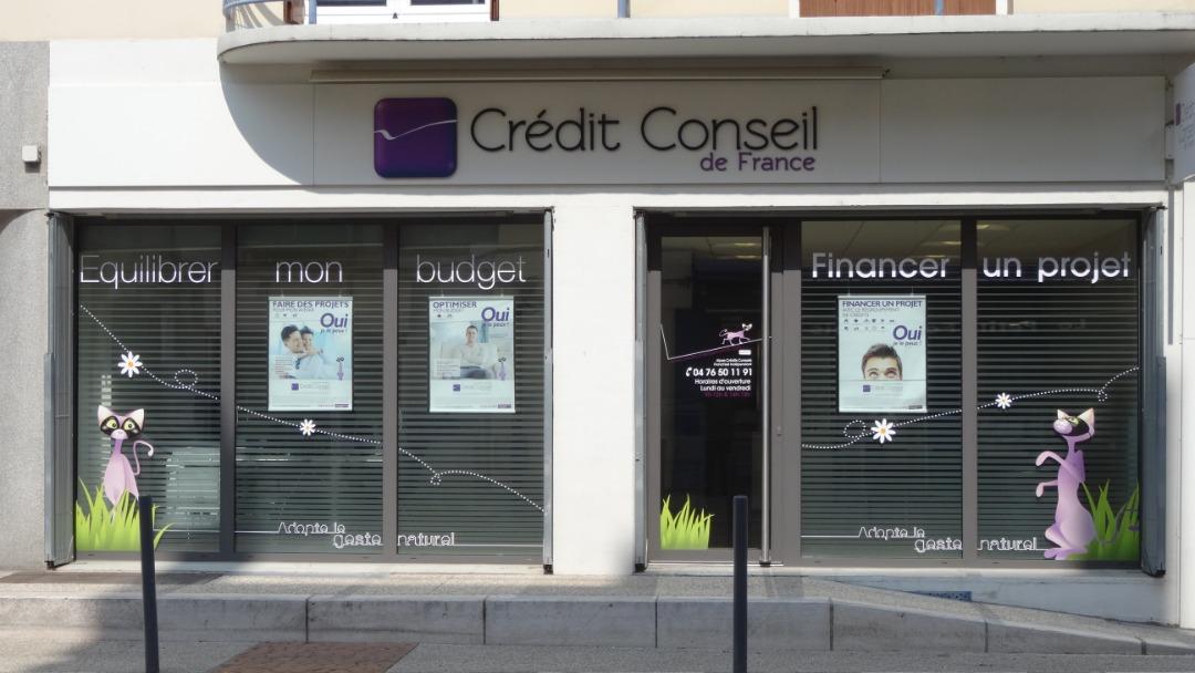Crédit Conseil de France Grenoble FONTAINE